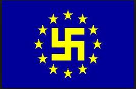 bandiera euro nazista