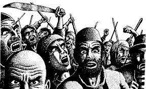 popolo in rivolta