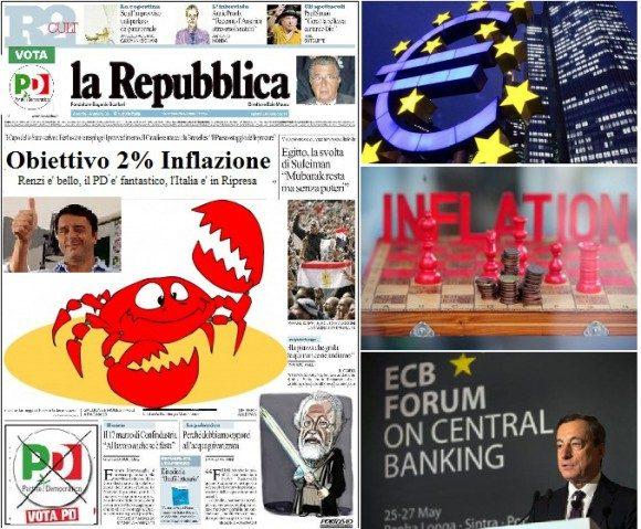 La Repubblica prende un granchio con lo statuto della BCE! (di Antonio Maria Rinaldi)