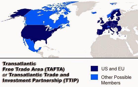 TUTTI ATLANTICI I CONSULENTI DELLA COMMISSIONE EUROPEA PER IL TRATTATO TRANSATLANTICO (TTIP) di Giovanni Bottazzi