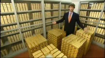 Sorpresa: l'Italia ha eccezionali riserve d'oro.