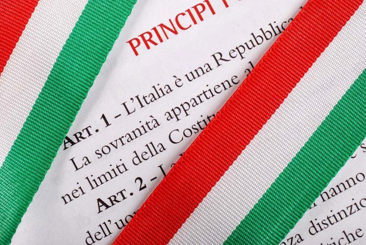 La Costituzione economica 1° scheda: introduzione