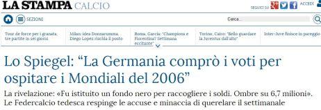 """FireShot Screen Capture #053 - 'Lo Spiegel_ """"La Germania comprò i voti per ospitare i Mondiali del 2006"""" - La Stampa' - www_lastampa_it_2015_10_16_sport_calcio_lo-spiegel-la-germania-pag-per-ospitare-i"""