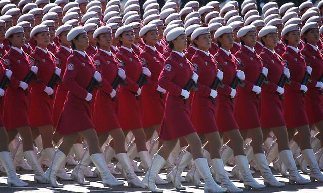 Cina parata femminile