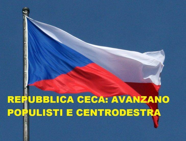 REPUBBLICA CECA: AVANZANO I CENTRISTI  POPULISTI