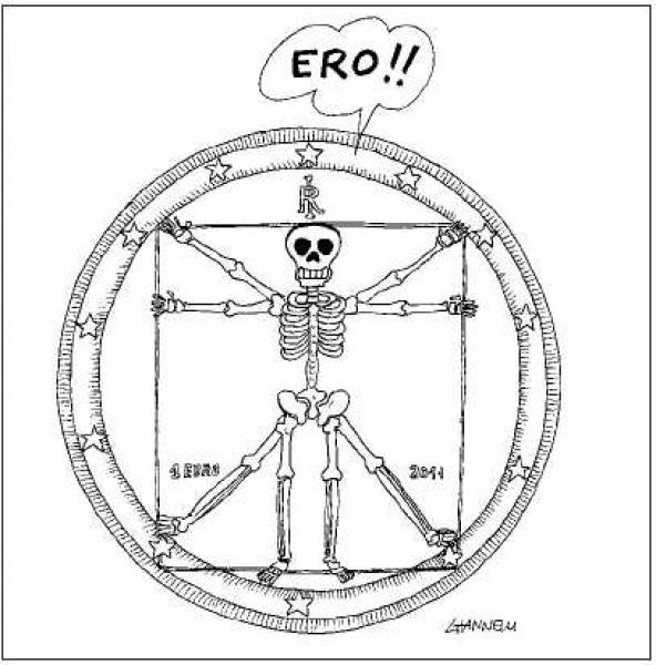 """""""L'euro è riuscito, ma l'Italia è morta"""". Ecco la """"Cura"""" del medico Piddino, direttamente dalla sua tastiera."""