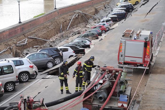 """BORGHI  """"La voragine di Firenze? Un disastro per l'immagine dell'Italia davanti a tutto il mondo."""""""