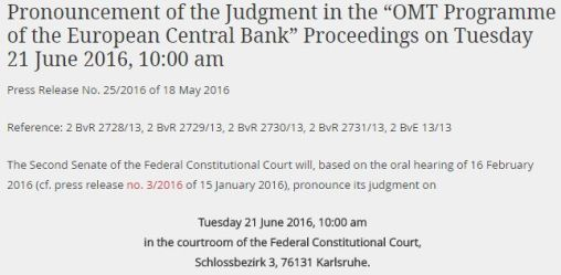 """FireShot Screen Capture #318 - 'Bundesverfassungsgericht - Press - Pronouncement of the Judgment in the """"OMT Programme of the European Central Bank"""" Proceedings on Tuesday 21 June 2016, 10_00 am' - www"""