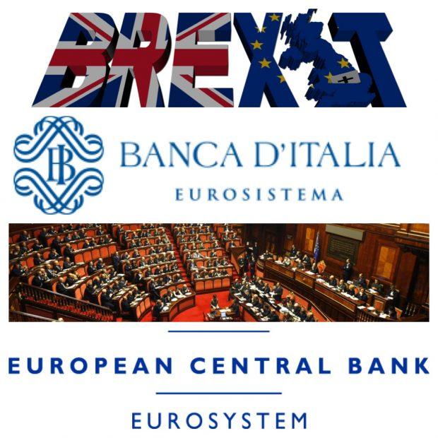 APPELLO ALLA BANCA D'ITALIA, AI POLITICI, E PER CONOSCENZA ALLA BCE, IN CASO DI BREXIT Scenarieconomici.it