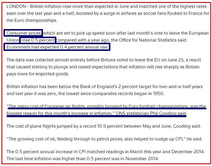UK INFLAZIONE REUTERS