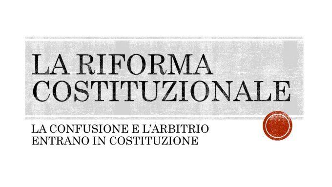 LA RIFORMA COSTITUZIONALE: IL VIDEO DEL CONVEGNO DI CASTELLO DEL 24/9/16