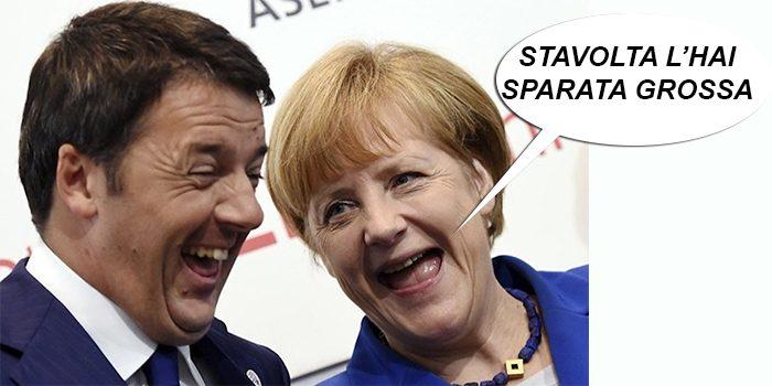 Un SI al referendum porterà un'impennata delle tasse volute dall'EU: Renzi come al solito mente. Ecco cosa aspettarsi