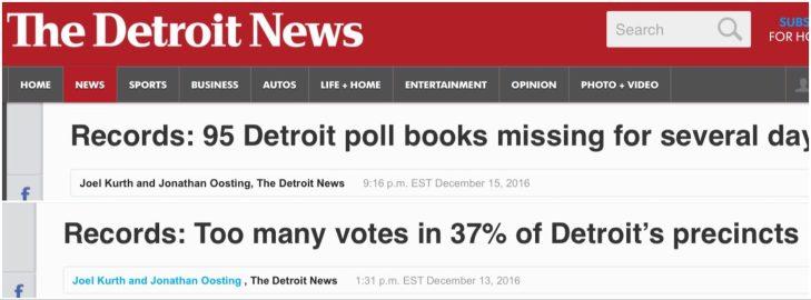 Clamoroso, in Michigan sta emergendo che i Dem possono aver truccato le elezioni! Il repulisti che verrà (anche in Italia?)