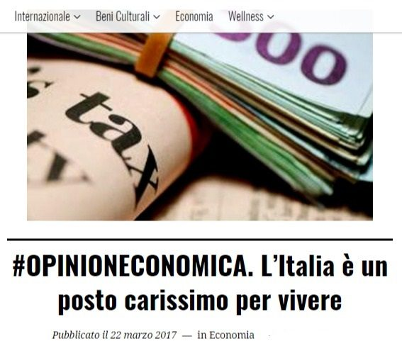 Milano al vertice dell'EUrozona per costo della vita (fonte: ofcs/UBS) e con stipendi molto più bassi della media EU