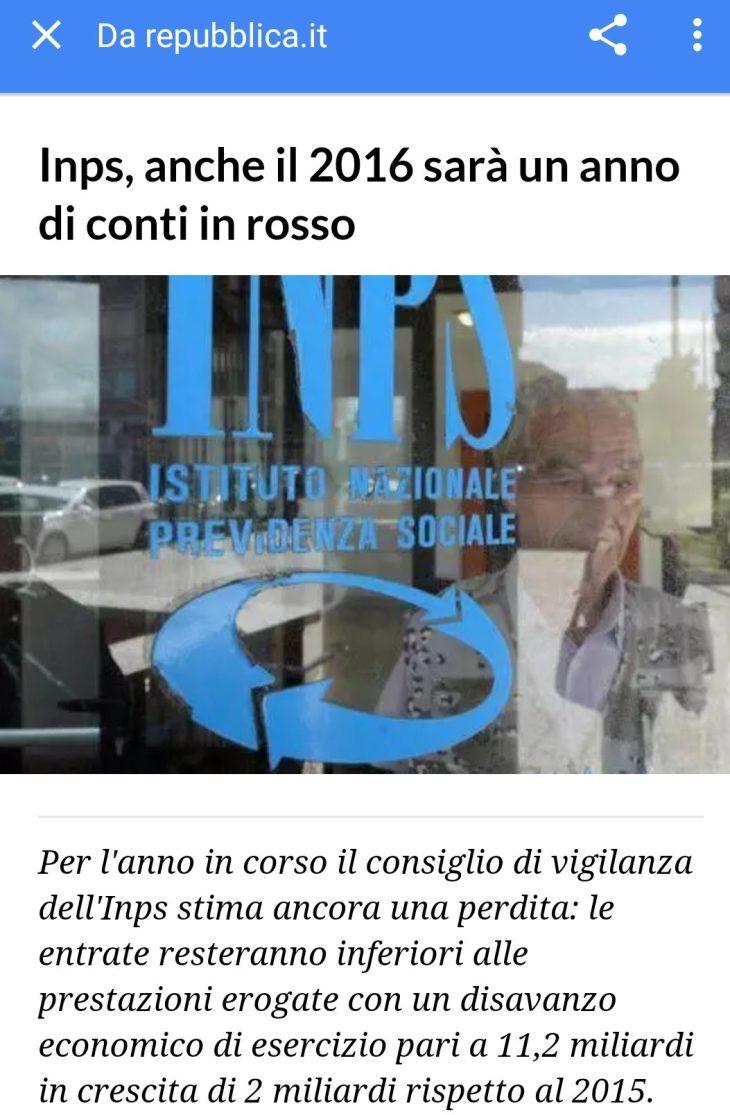 INPS! ECCO CHI FA FALLIRE LE AZIENDE ITALIANE