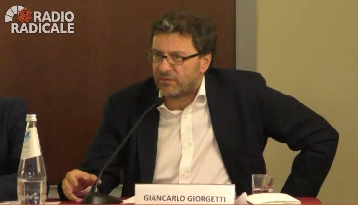 """GIANCARLO GIORGETTI (LEGA): """"RITRATTARE I TRATTATI"""""""