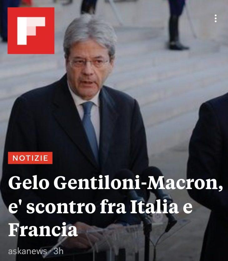 GLI SCHIAFFI DI MACRÓN IL NAZIONALISTA ALLA POLITICA LEUROPEISTA ITALIANA