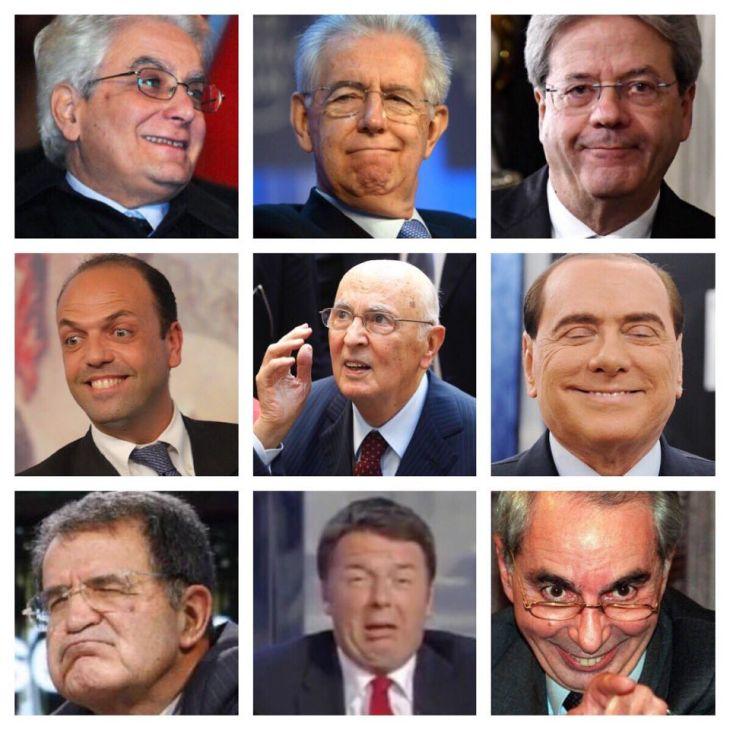 RISULTATI SONDAGGIO: CHI PER GLI ITALIANI E' IL RESPONSABILE DELLA CRISI