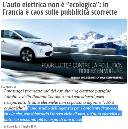 Cosa si nasconde dietro la spinta mediatica verso le auto elettriche, da imporre per legge ai consumatori (senza ridurre la CO2 emessa)