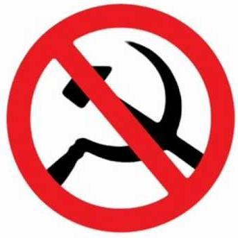 Risultati immagini per no al comunismo
