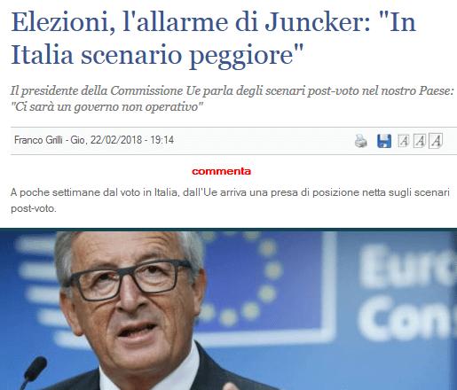 Intuito il piano per destabilizzare l'Italia dopo le elezioni? Violenza, crisi economica ed ingovernabilità, thanks Soros & Co. Tutti i partiti devono far fronte comune (escluso il PD)