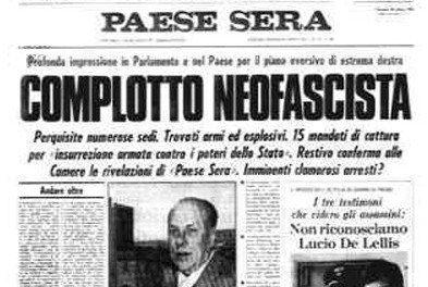 BANCHE GOLPISTE E LA NECESSITA' DI UNA NUOVA, VERA, VIGILANZA DEMOCRATICA