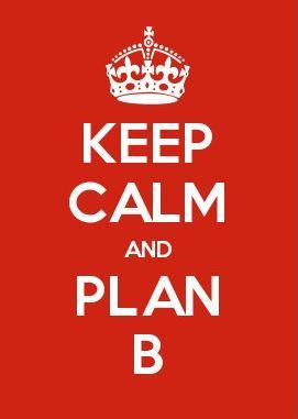 L'insostenibile leggerezza del non avere un Piano B. Il consiglio di Bloomberg.