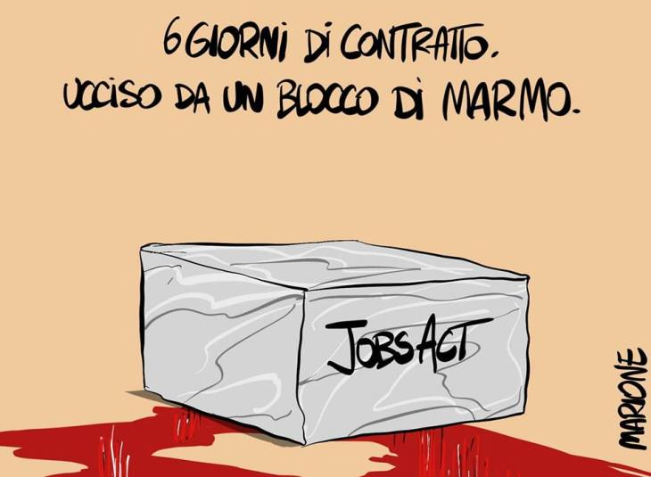 """Morto a 37 anni sotto un blocco di marmo con un contratto di sei giorni. Per lui nessuno indosserà """"magliette rosse"""" (di Giuseppe PALMA)"""