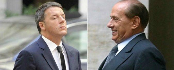 FINALMENTE CHIAREZZA NELLA POLITICA ITALIANA: IL PD E FORZA ITALIA SI FONDONO.