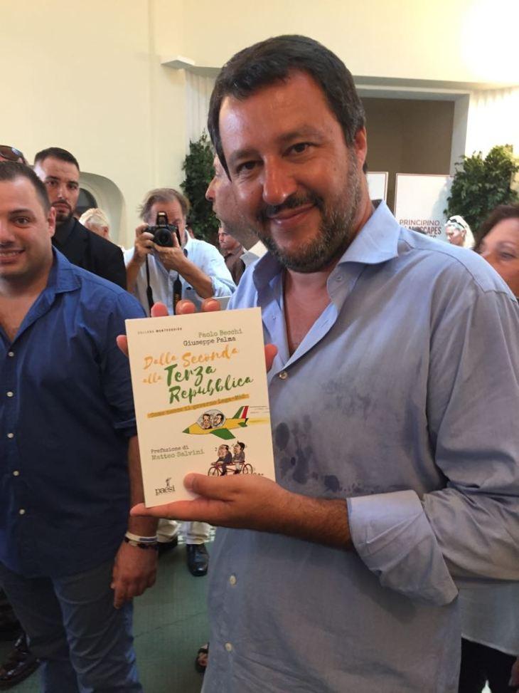 """""""Dalla Seconda alla Terza Repubblica. Come nasce il governo Lega-M5S"""". Il libro di Becchi e Palma con Prefazione di Salvini"""