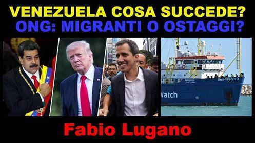 ITALIA NEWS INTERVISTA FABIO LUGANO: VENEZUELA E SEAWATCH 3
