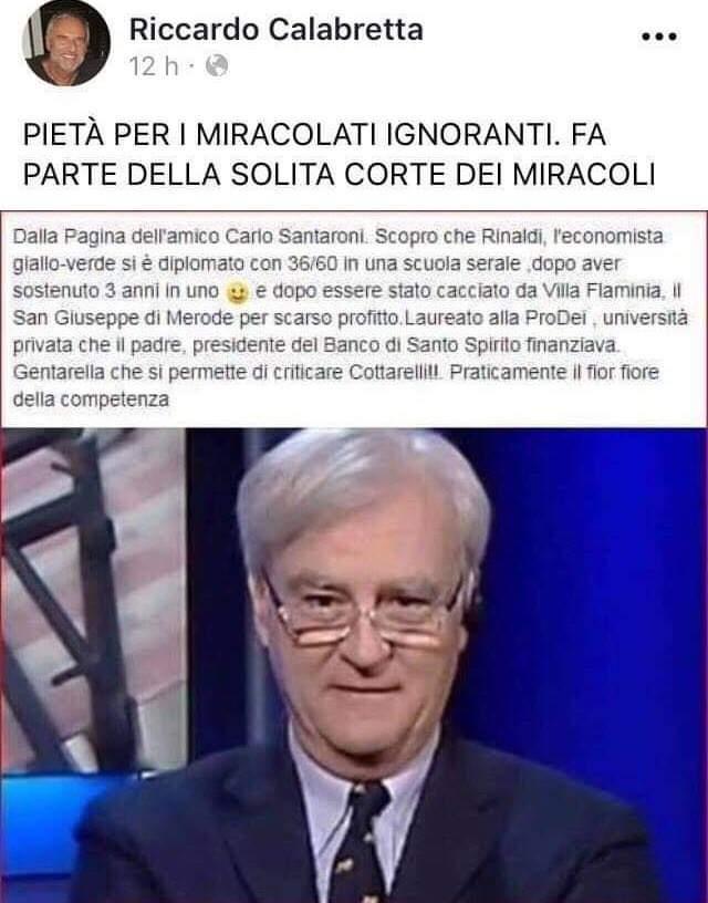 """(Parte Prima) Perché e chi sono i vari """"SOROS e Martello"""" che attaccano la Lega, i 5S, Savona, Rinaldi e tutti i """"dissidenti""""?…(di Vincenzo Bellisario)"""