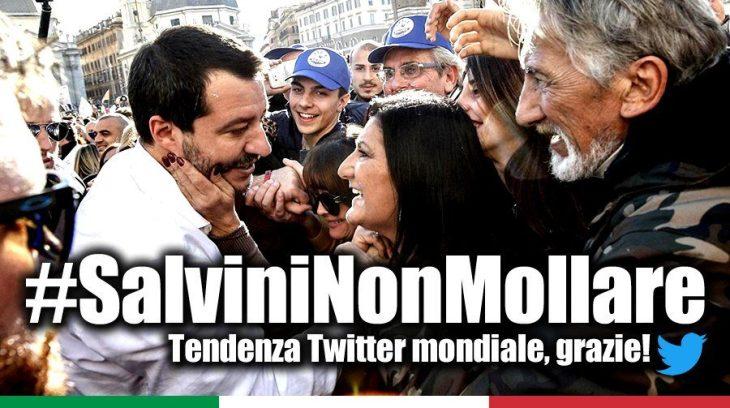 Incredibile: richiesta l'autorizzazione a procedere contro Salvini, nonostante la richiesta di archiviazione della Procura. Un omaggio ai globalisti di Davos