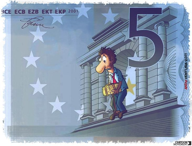 SCIOCCANTE RICERCA DEL CEP: OGNI ITALIANO HA PERSO 73.600 EURO CON L'INTRODUZIONE DELL'EURO