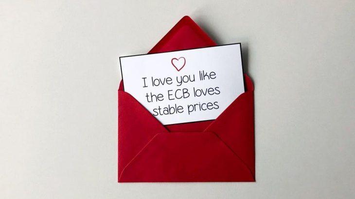 Buon San Valentino dalla BCE, che vi tradisce con il suo primo amore……