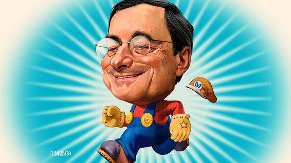 Gli azionisti delle banche non hanno apprezzato il discorso di Draghi (per ora)….