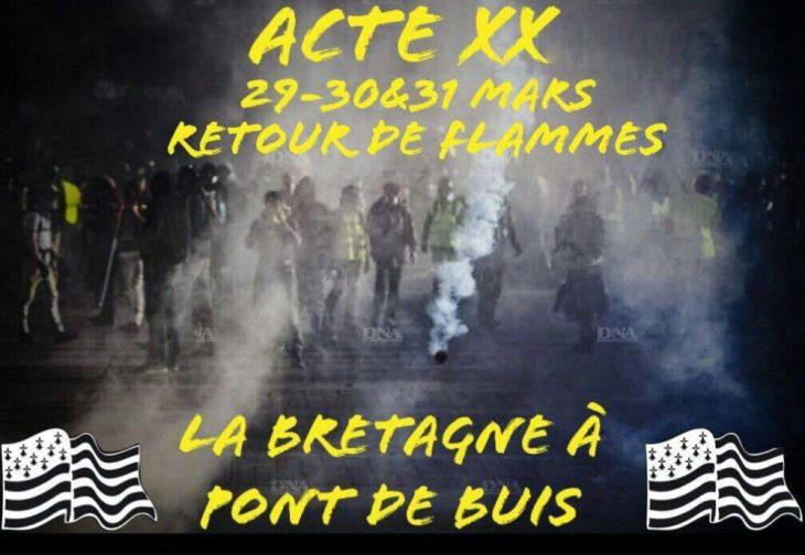 Alla vigilia dell'Atto XX dei Gilet Gialli, il 40% dei francesi pensa sia tempo di Rivoluzione