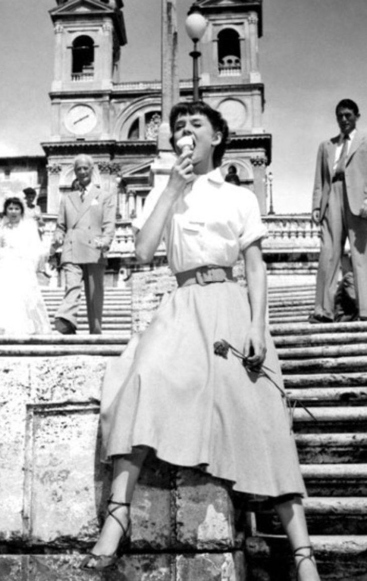 """Greta Hepburn in """"Vacanze Romane"""" – ovvero: vengo e vi mortifico (di R. Giorgini)"""