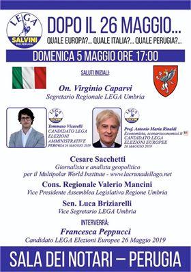 Convegno a Perugia con Sacchetti e Rinaldi