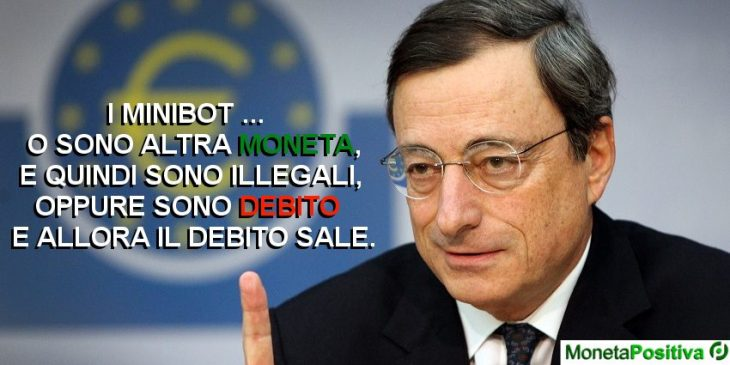 Mario Draghi approva i MiniBot