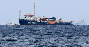 OLANDA E GERMANIA ATTACCANO MILITARMENTE L'ITALIA CON LA  SEA WATCH (diretta di Salvini)