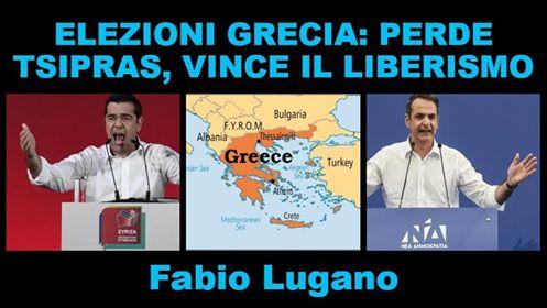 Fabio Lugano ad Italia News: le elezioni greche