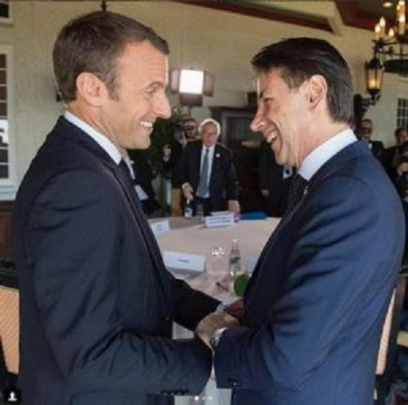 "L'Italia aderisce a ""sorpresa"" all'European Intervention Initiative.   Un nuovo regalo ai francesi dopo l'incontro tra Conte e Macron. (di Francesco Amodeo)"