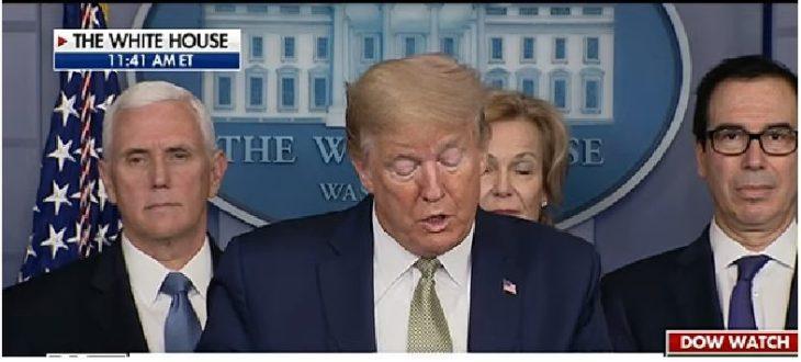 DENARO ALL'ECONOMIA REALE, SUBITO (NEGLI USA..): La FED compra 1000 miliardi di Commercial Paper. Trump rinvia i pagamenti delle tasse di 90 giorni, ma dà subito i rimborsi