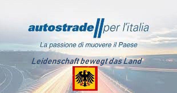 AUTOSTRADE PER L'ITALIA DIVENTA TEDESCA. UN ENORME PERICOLO: intervento di Rinaldi. Inizia il sacco dell'Italia?