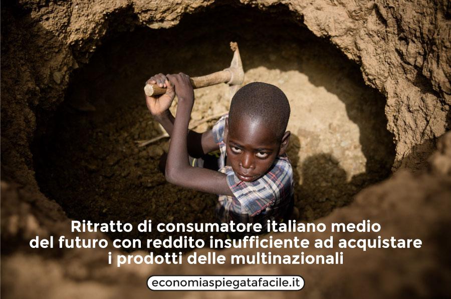 當意大利製造只是回憶時,意大利工人將成為新的奴隸