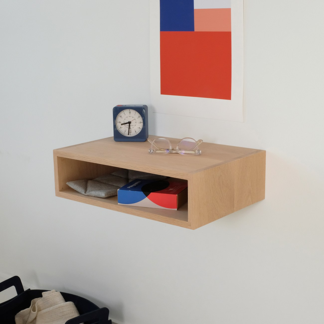 Floating Shelf Nightstand