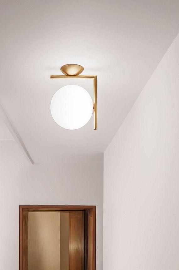 art deco inspired ceiling lamp