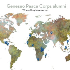 Geneseo Is a Peace Corps Powerhouse