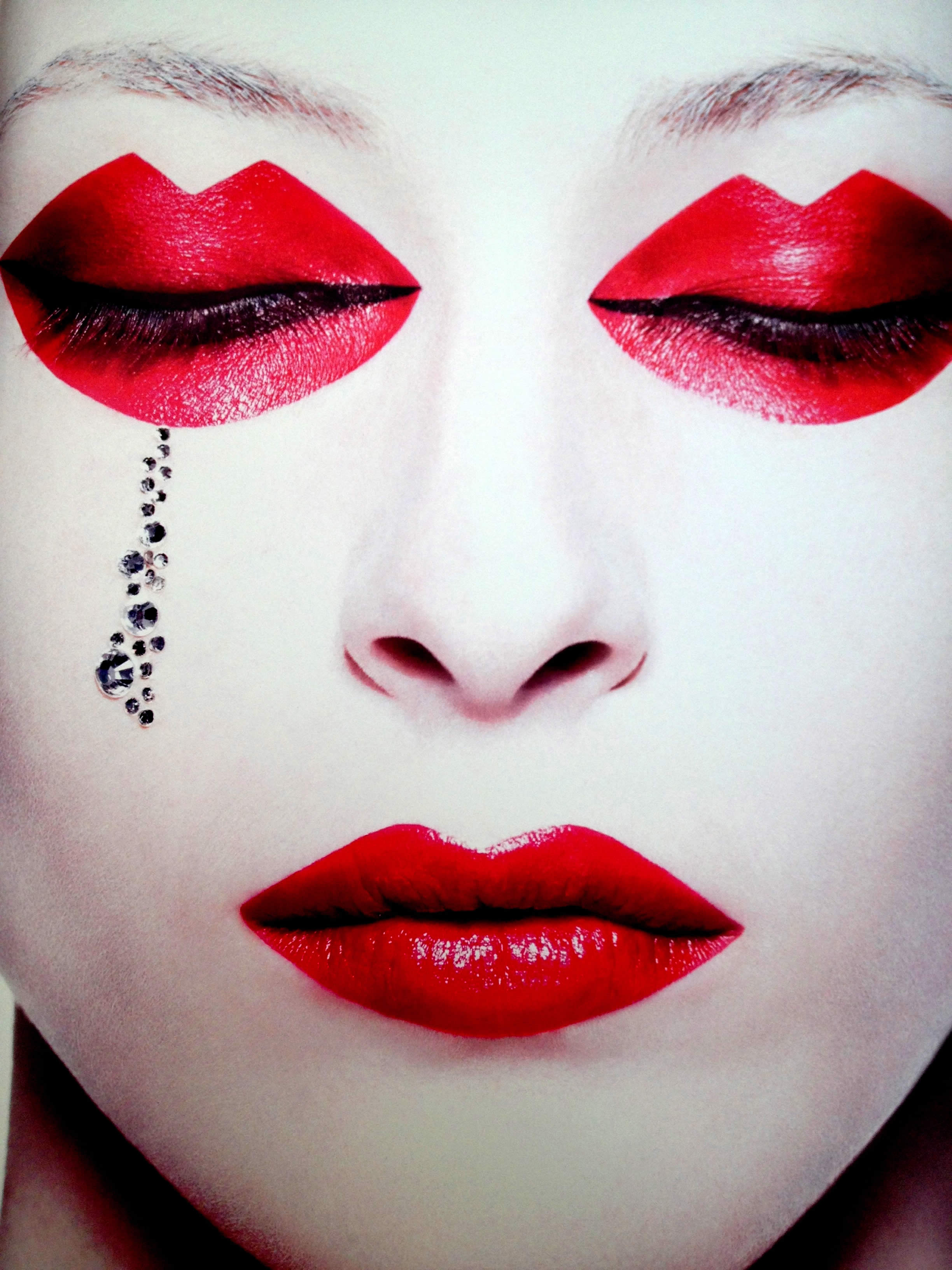 Eccentric Makeup And Photography By Rankin Scene360